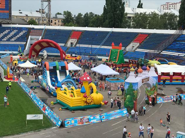 Лето! Спорт! Аттракционы! Воронеж 2018.