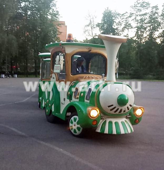 аренда паровозика